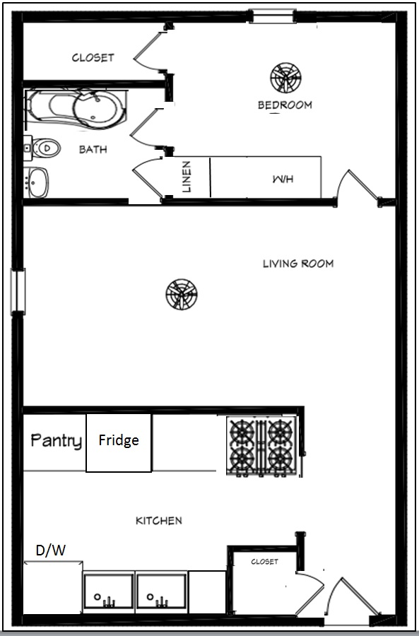 1_Bedroom_Floorplan