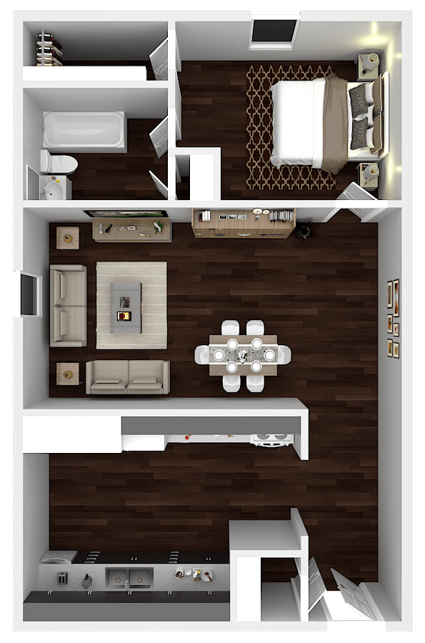 1_Bedroom_Floorplan